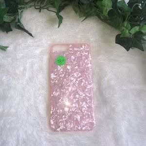 Accessories - iPhone 7+/8+ pink iridescent case
